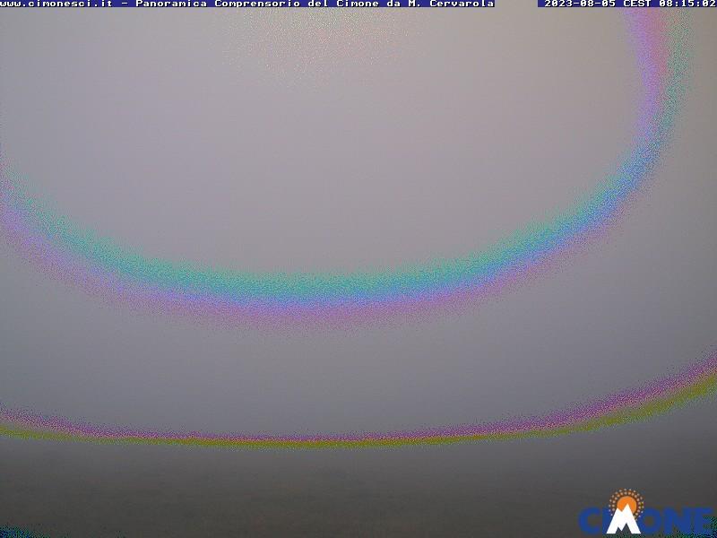 Cimone - aktuální pohled z webkamery